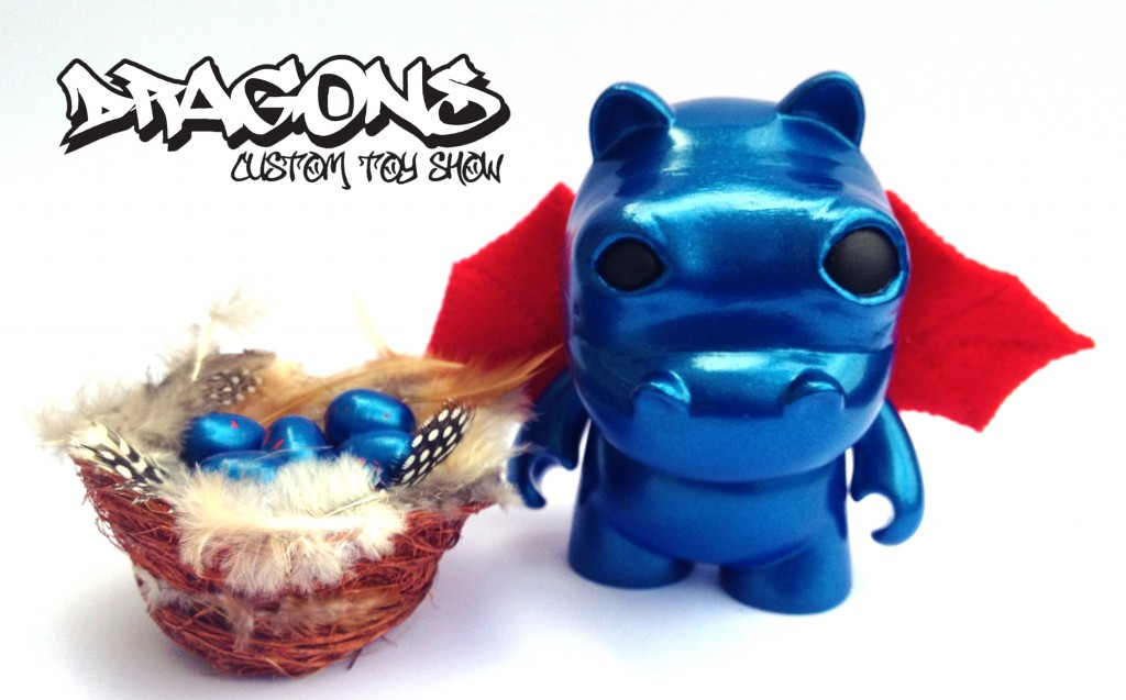 taylored curiosities dragons custom toy show