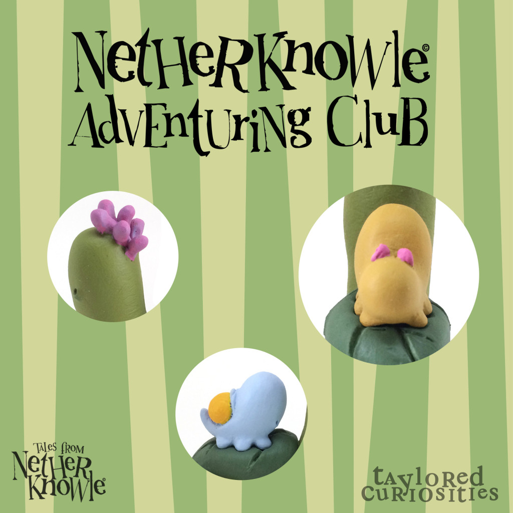 netherknowle adventuring club coming soon designer toy resin sculpt ooak original nature taylored curiosities copyright protected